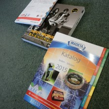 Printing of catalogues and annual reports