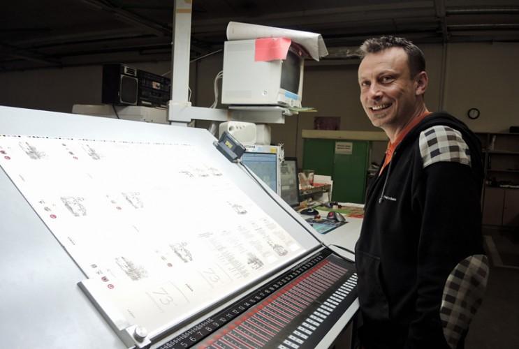 Sheet-fed offset printing, digital printing, large-format